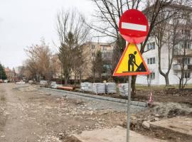 Reparații în Piața Unirii și pe străzile Cibinului și Râului.Circulație închisă pe Șoseaua Alba Iulia