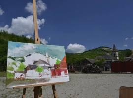 AIOS a lansat înscrierile pentru școala de vară de arte plastice de la Răşinari