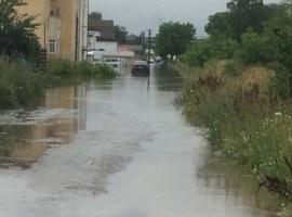 Efectele inundațiilor, inventariate la Prefectură. Sibienii afectați de calamități vor primi ajutor de la Guvern