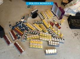 Rețea specializată în contrabandă cu țigări,destructurată de polițiștii sibieni