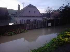 Satul Boian a fost lovit de inundații fără precedent