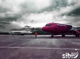 Trei zboruri noi, din acest final de săptămână, de pe Aeroportul Internațional Sibiu