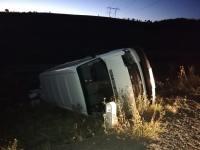Accident la ieșirea din Șura Mare! Nouă persoane, dintre care patru copii, au fost transportate la spital