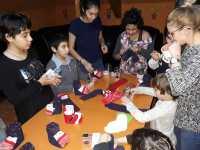 """Social-democraţii sibieni au fost ajutoarele lui Moş Nicolae pentru copiii din cadrul centrului """"Prichindelul"""""""