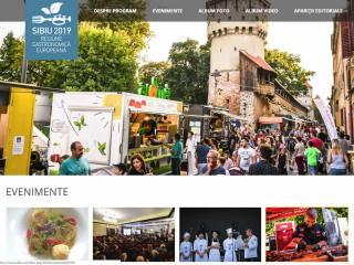 Primăria Sibiu promovează programul Regiune Gastronomică Europeană pe site-ul propriu