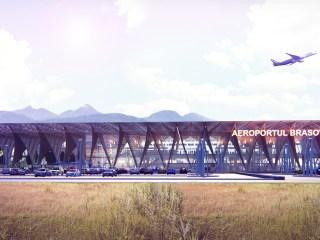 Licitația pentru noul terminal al aeroportului din Brașov, adjudecată de Construcții SA