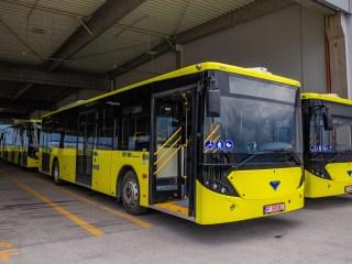 Zece autobuze hi-tech intră în flota Tursib