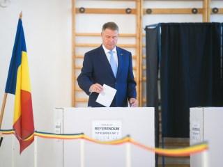 """Președintele Klaus Iohannis: """"Veniți la vot, dragi români!"""""""