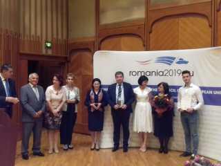 """Comunicat de presă privind decernarea titlului de """"Școală Europeană"""" pentru Colegiul Național """"Octavian Goga"""" Sibiu"""