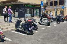 Locuri speciale pentru motociclete și scutere