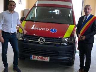 22 de ambulanțe pentru județul Sibiu