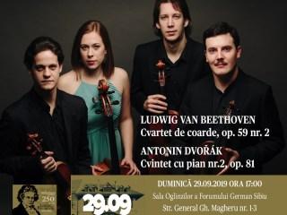 Florescu-Fernandez & Friends îl aniversează pe Beethoven
