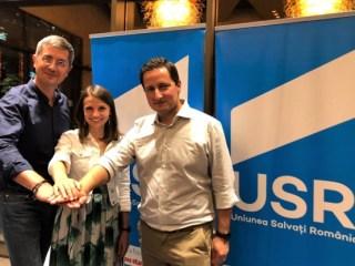 Dan Barna, Diana Mureșan și Nicu Ștefănuță sunt sibienii aleși în Biroul Național al USR