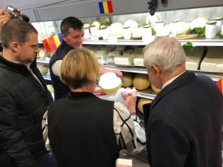 Brânzărie, primul magazin din Sibiu inaugurat cu doi miniștri