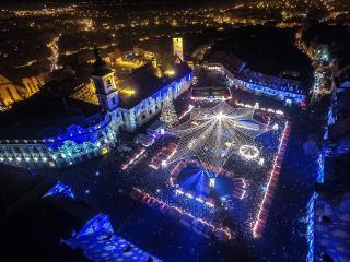 Sibiul dă startul sărbătorilor de iarnă