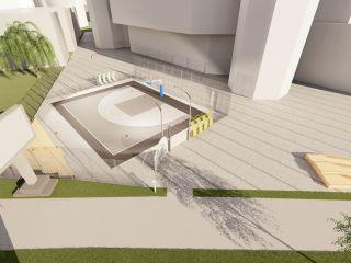 Sala Transilvania construiește primul teren de baschet 3×3 din Sibiu, în memoria lui Elemer Tordai