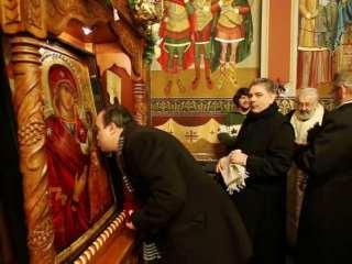 Maslu pentru însănătoșirea celor contaminați cu noul virus din China, la biserica spitalului TBC din Sibiu