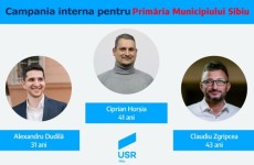 Toți pentru unul! Pe cine propune USR – PLUS pentru Primăria Sibiu și Consiliul Local