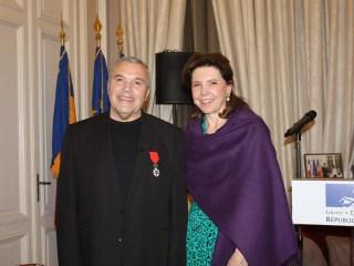 Președintele Franței l-a numit Cavaler al Ordinului Național al Legiunii de Onoare pe Constantin Chiriac