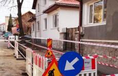 Delgaz sparge 4,5 km de străzi în Sibiu