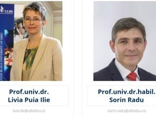 Bătălia pentru ULBS continuă între Sorin Radu și Livia Ilie