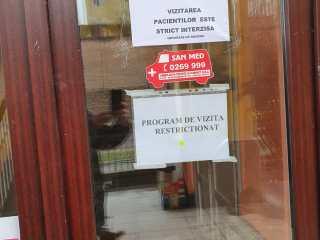 ACCES INTERZIS vizitatorilor la Spitalul Clinic Județean de Urgență Sibiu