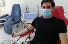 Erou de ziua lui de naștere: un tânăr sibian a donat sânge la majorat