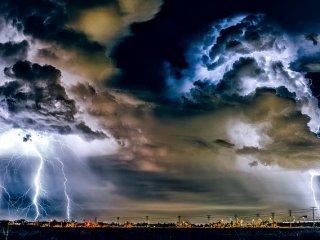 COD PORTOCALIU de fenomene meteo extreme, la Sibiu