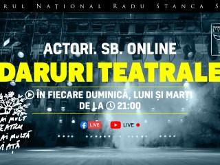 Întâlnirile online cu actorii TNRS reîncep duminică într-un nou format
