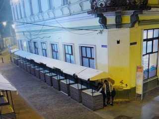 Spargere filmată live în Sibiu!
