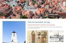 Site-ul patrimoniu.sibiu.ro este disponibil online cu un nou aspect