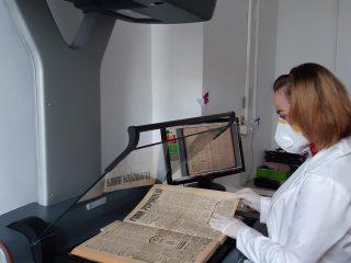 Peste 165.000 de pagini digitizate la Biblioteca Județeană ASTRA Sibiu