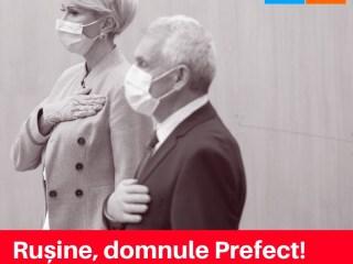 Alianța USR PLUS Sibiu: Rușine, domnule prefect. Medicii merită respect, nu dispreț.