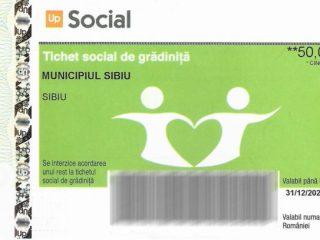 Tichete sociale pentru copiii care merg la grădiniță