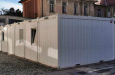 Anchetă la Spitalul Județean Sibiu. Sunt vizate containerele pentru pacienții COVID