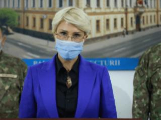 Raluca Turcan: A fost prima opțiune o conducere militară la DSP și Spitalul Județean Sibiu. O astfel de decizie se pregătește și se pune în practică, nu se bate toba (P.E.)