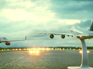 BANI. Ajutor companiilor care vor opera zboruri regulate pe Aeroportul Internațional Sibiu