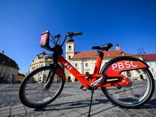 Sibiu Bike City: 44 de centre publice pentru închirieri de biciclete. În cât timp vor fi gata