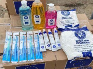Primăria Sibiu distribuie pachetele cu produsele de igienă rămase în stoc