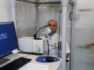 FOTO: Investigații respiratorii complexe pentru pacienții post-Covid și cei cu alte boli pulmonare
