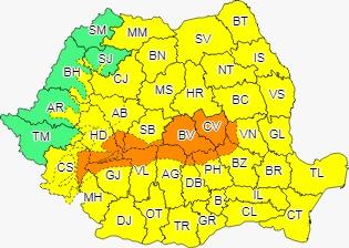 Se anunță viscol puternic la Sibiu