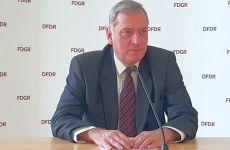 Dr. Porr a fost reales preşedinte al FDGR
