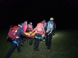FOTO: Noapte grea pentru salvamontiștii sibieni