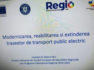 Lucrări de reabilitare ale pasajului peste calea ferată în Mediaș