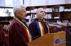 Constantin Chiriac, doctor honoris causa al Academiei de Științe Economice din Moldova