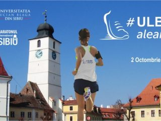 """Universitatea """"Lucian Blaga"""" din Sibiu aleargă pentru viață!"""