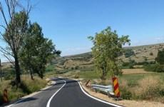 FOTO, VIDEO: Modernizarea drumului județean Ocna – Topârcea – Ludoș a fost finalizată