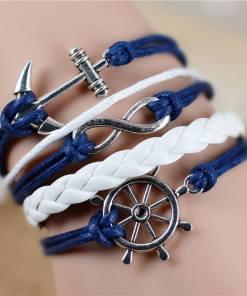 Bracelet de charme vintage multicouche modèle 1
