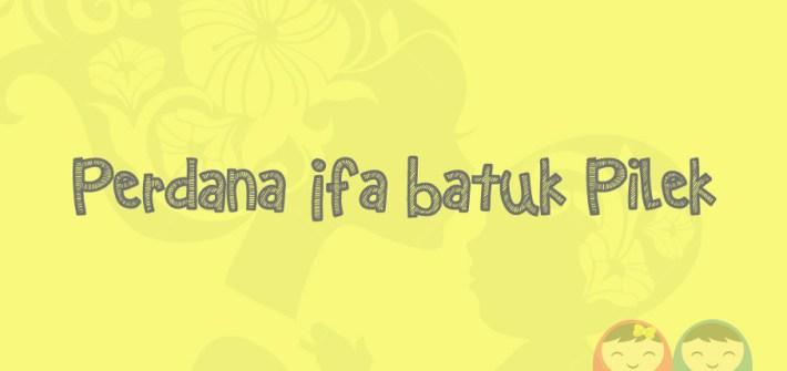 Perdana Ifa Batuk Pilek