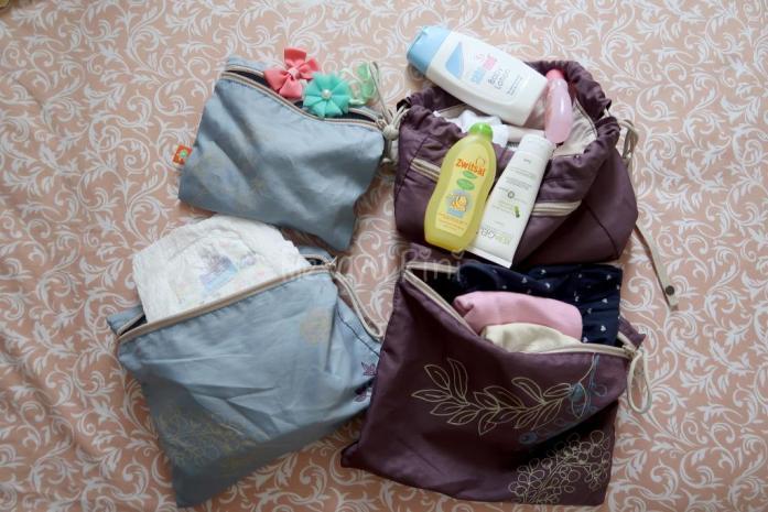 Packing untuk keperluan selama perjalanan